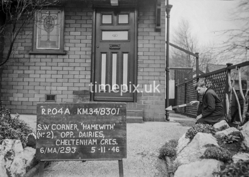SD830104A, Ordnance Survey Revision Point photograph in Greater Manchester
