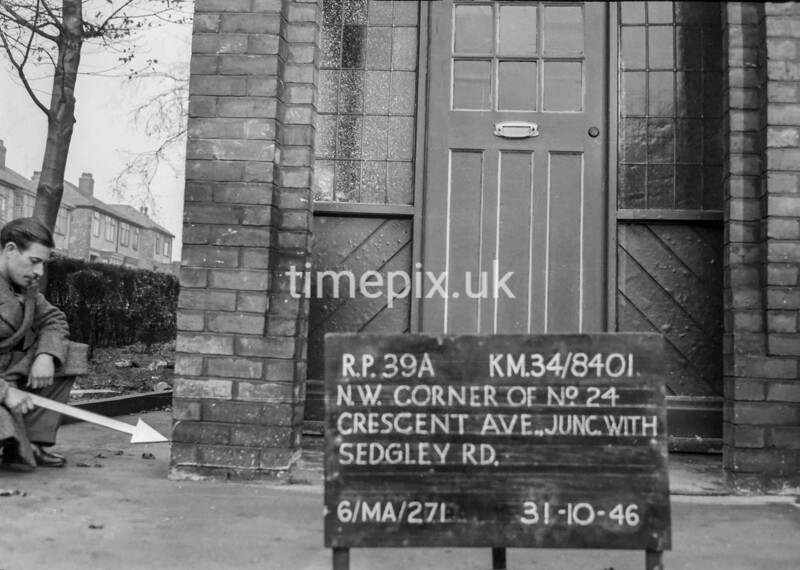 SD840139A, Ordnance Survey Revision Point photograph in Greater Manchester