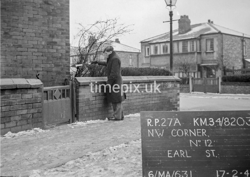 SD820327A, Ordnance Survey Revision Point photograph in Greater Manchester