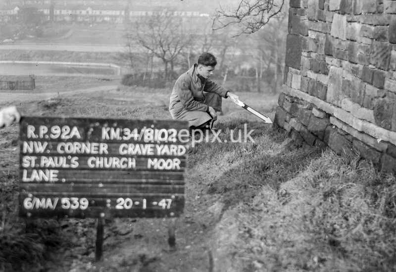 SD810292A, Ordnance Survey Revision Point photograph in Greater Manchester