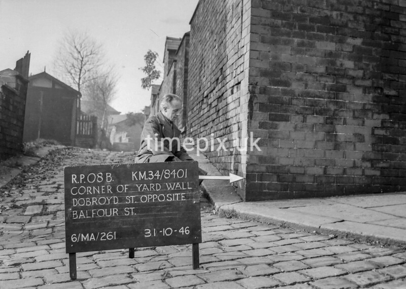 SD840108B, Ordnance Survey Revision Point photograph in Greater Manchester