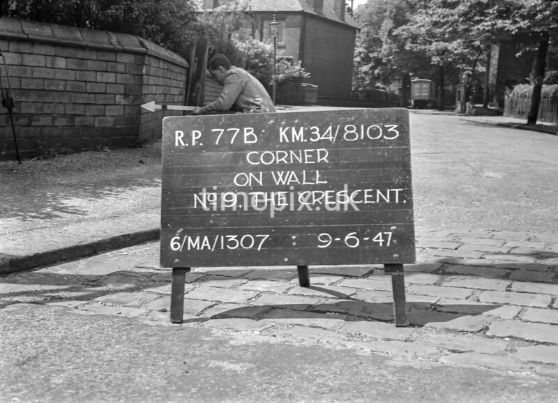 SD810377B1, Ordnance Survey Revision Point photograph in Greater Manchester