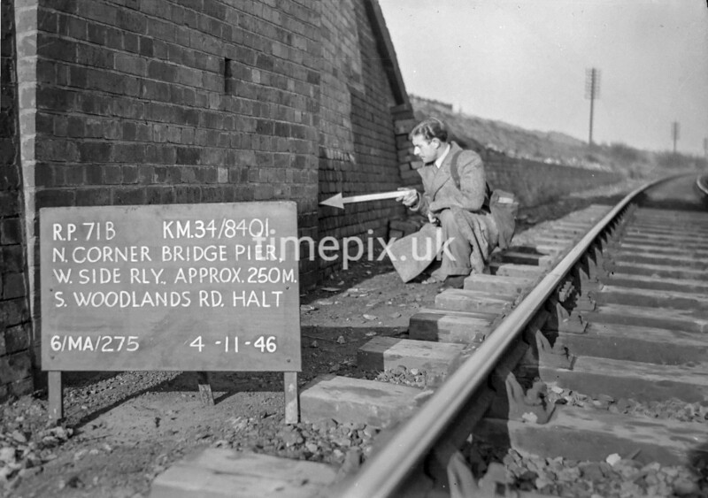 SD840171B, Ordnance Survey Revision Point photograph in Greater Manchester