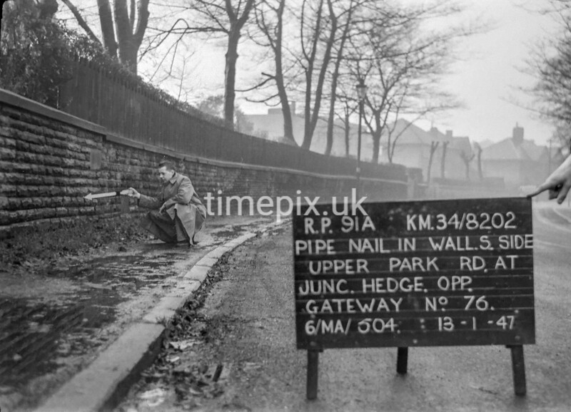 SD820291A, Ordnance Survey Revision Point photograph in Greater Manchester