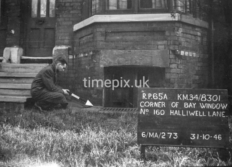SD830165A, Ordnance Survey Revision Point photograph in Greater Manchester