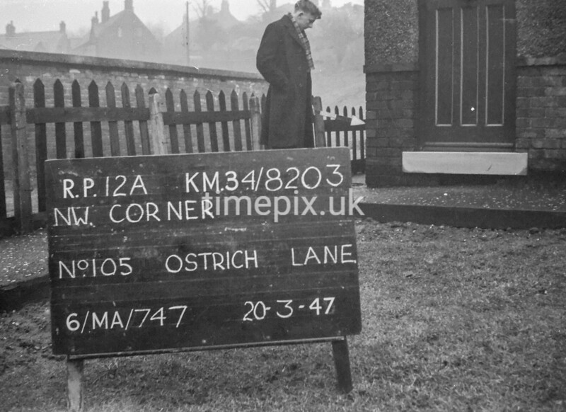 SD820312A, Ordnance Survey Revision Point photograph in Greater Manchester