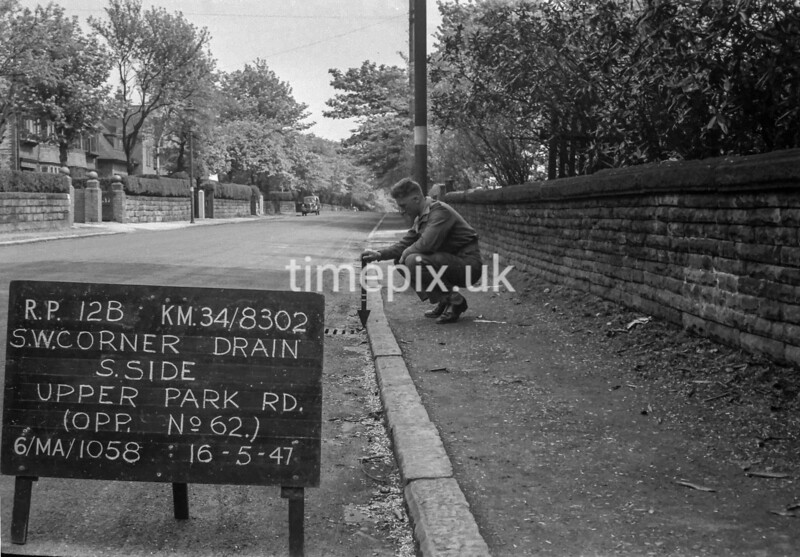 SD830212B, Ordnance Survey Revision Point photograph in Greater Manchester