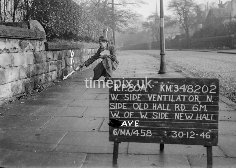 SD820280A, Ordnance Survey Revision Point photograph in Greater Manchester
