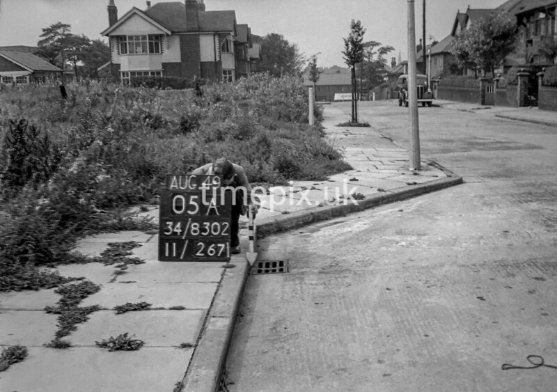 SD830205A, Ordnance Survey Revision Point photograph in Greater Manchester