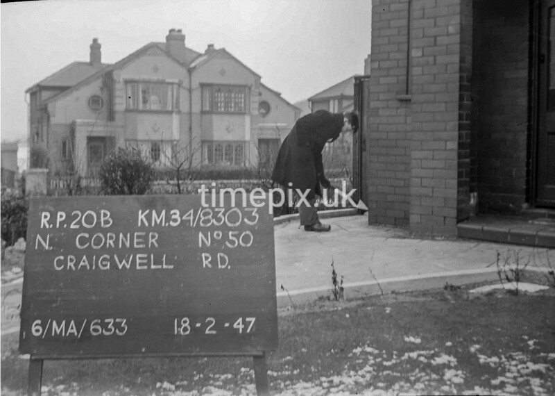 SD830320B, Ordnance Survey Revision Point photograph in Greater Manchester