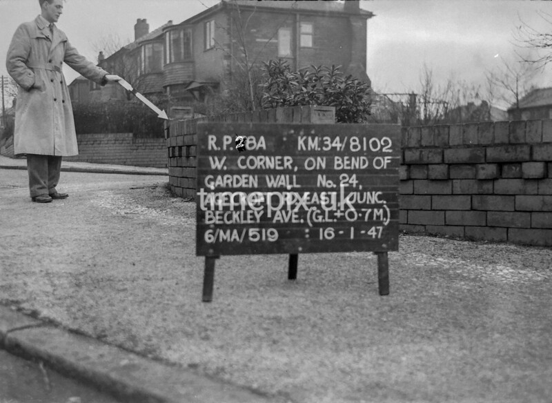 SD810228A, Ordnance Survey Revision Point photograph in Greater Manchester