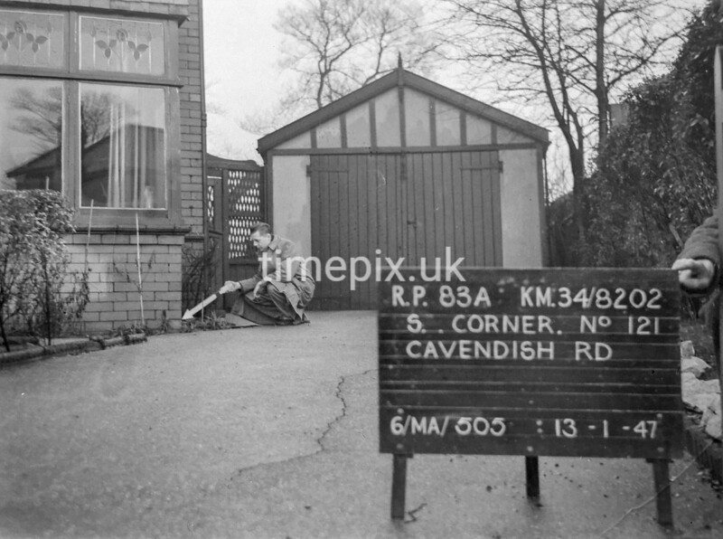SD820283A, Ordnance Survey Revision Point photograph in Greater Manchester