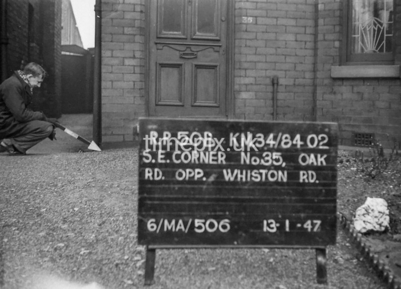 SD840250B, Ordnance Survey Revision Point photograph in Greater Manchester