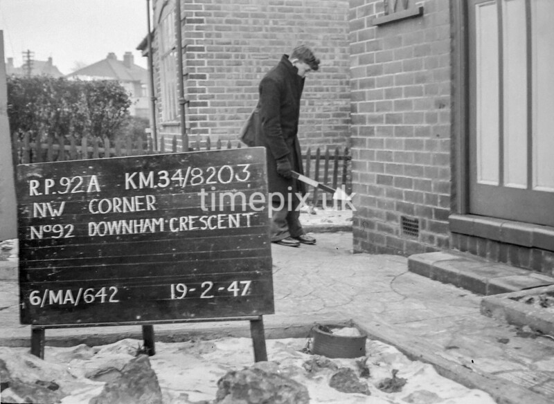SD820392A, Ordnance Survey Revision Point photograph in Greater Manchester