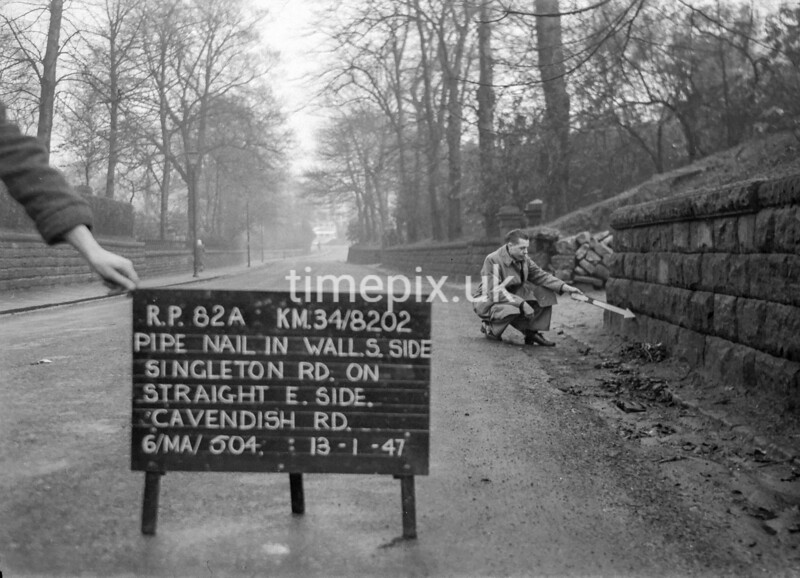SD820282A, Ordnance Survey Revision Point photograph in Greater Manchester