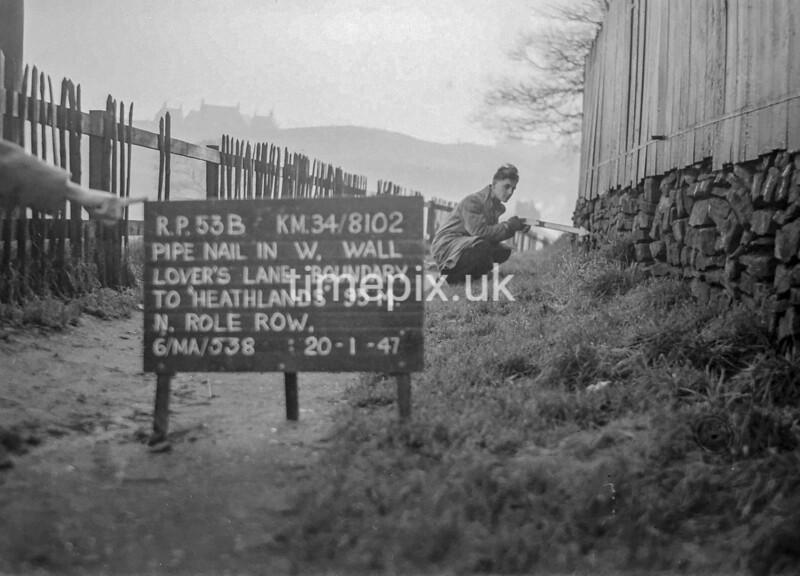 SD810253B, Ordnance Survey Revision Point photograph in Greater Manchester