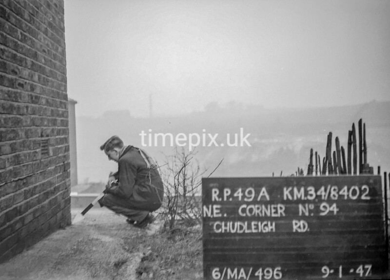 SD840249A, Ordnance Survey Revision Point photograph in Greater Manchester