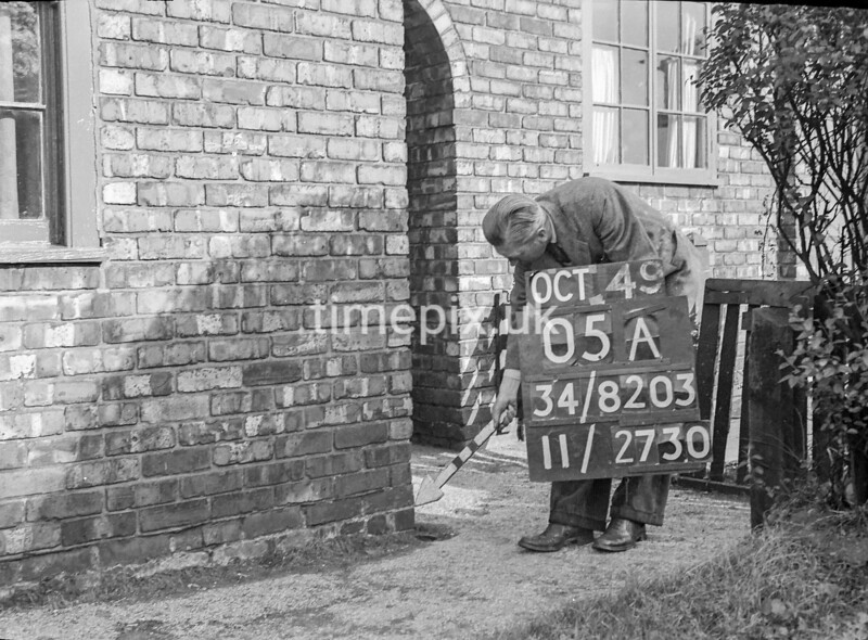SD820305A, Ordnance Survey Revision Point photograph in Greater Manchester