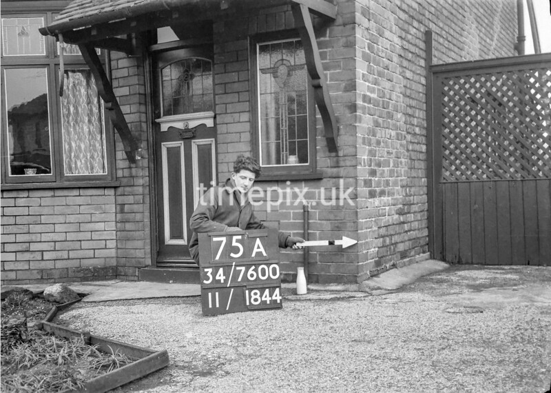 SD760075A, Ordnance Survey Revision Point photograph in Greater Manchester