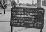 SD770157A, Ordnance Survey Revision Point photograph in Greater Manchester