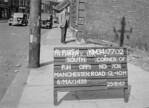 SD770295A, Ordnance Survey Revision Point photograph in Greater Manchester