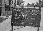 SD770166A, Ordnance Survey Revision Point photograph in Greater Manchester