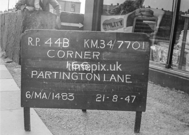 SD770144B, Ordnance Survey Revision Point photograph in Greater Manchester