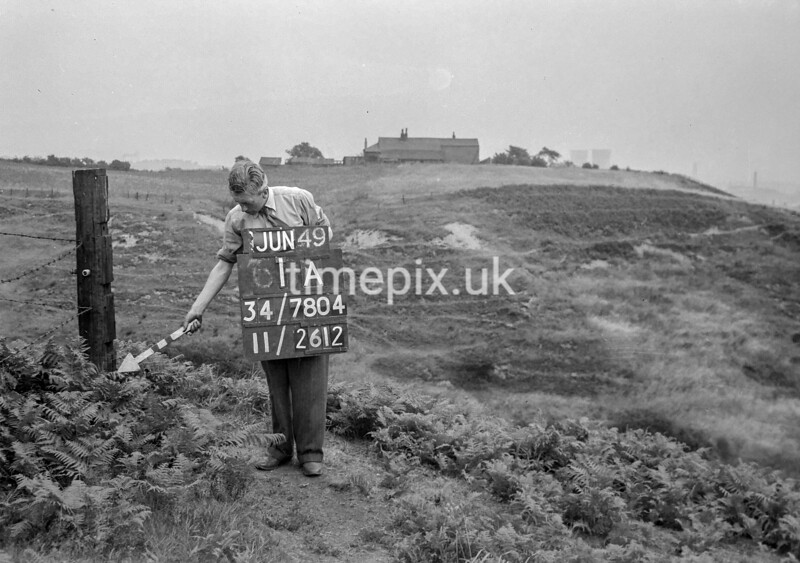 SD780401A, Ordnance Survey Revision Point photograph in Greater Manchester