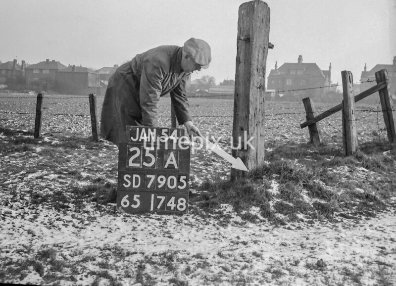 SD790525A, Ordnance Survey Revision Point photograph in Greater Manchester