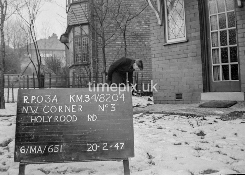SD820403A, Ordnance Survey Revision Point photograph in Greater Manchester