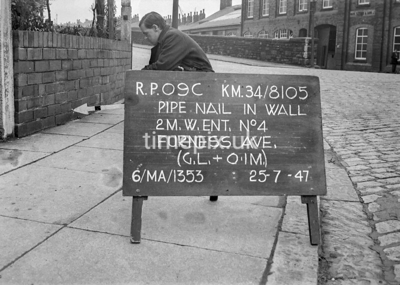 SD810509C, Ordnance Survey Revision Point photograph in Greater Manchester