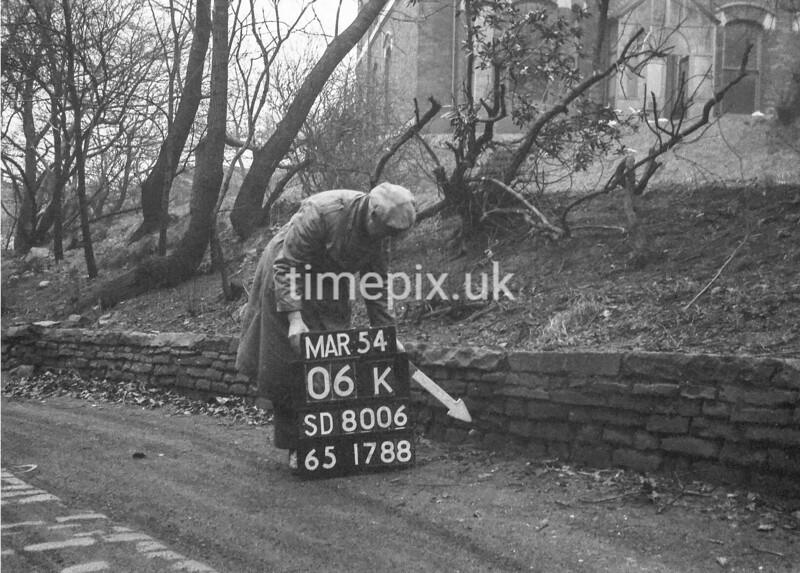 SD800606K, Ordnance Survey Revision Point photograph in Greater Manchester