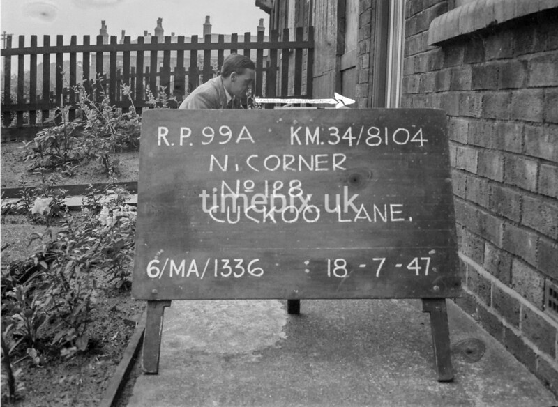 SD810499A, Ordnance Survey Revision Point photograph in Greater Manchester