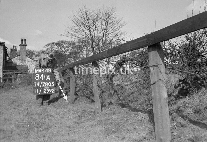 SD780584A, Ordnance Survey Revision Point photograph in Greater Manchester