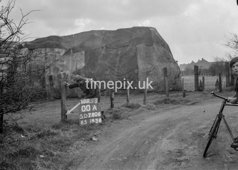 SD780600A, Ordnance Survey Revision Point photograph in Greater Manchester