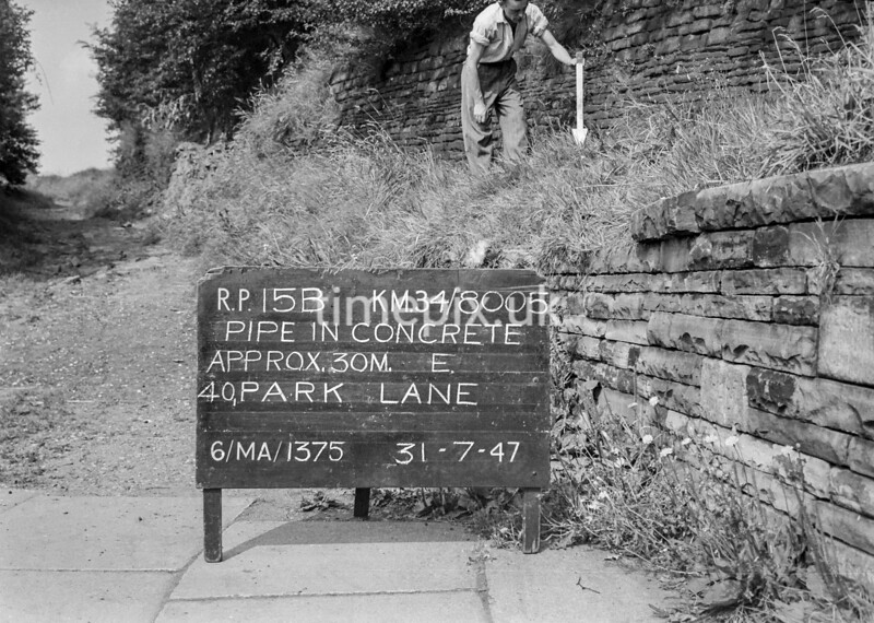 SD800515B, Ordnance Survey Revision Point photograph in Greater Manchester