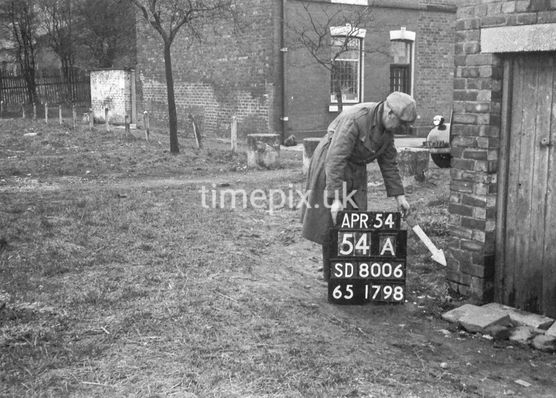 SD800654A, Ordnance Survey Revision Point photograph in Greater Manchester