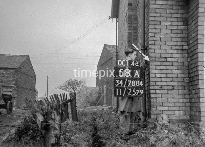 SD780458A, Ordnance Survey Revision Point photograph in Greater Manchester