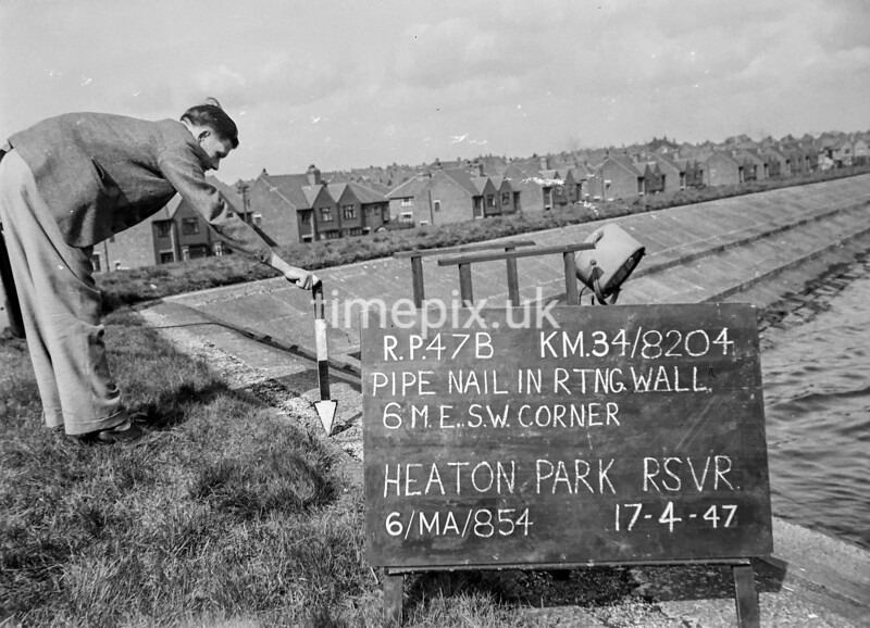 SD820447B, Ordnance Survey Revision Point photograph in Greater Manchester