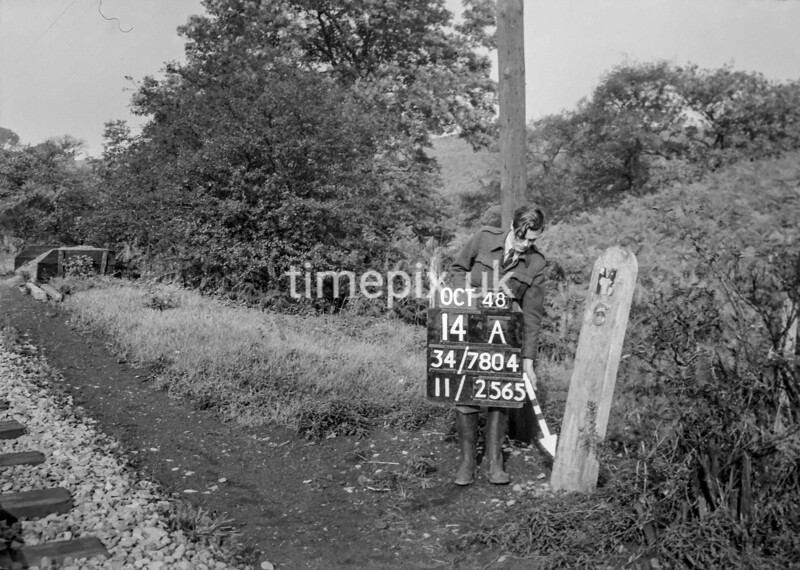 SD780414A, Ordnance Survey Revision Point photograph in Greater Manchester