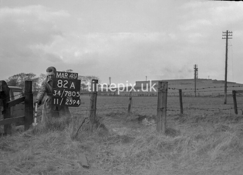 SD780582A, Ordnance Survey Revision Point photograph in Greater Manchester