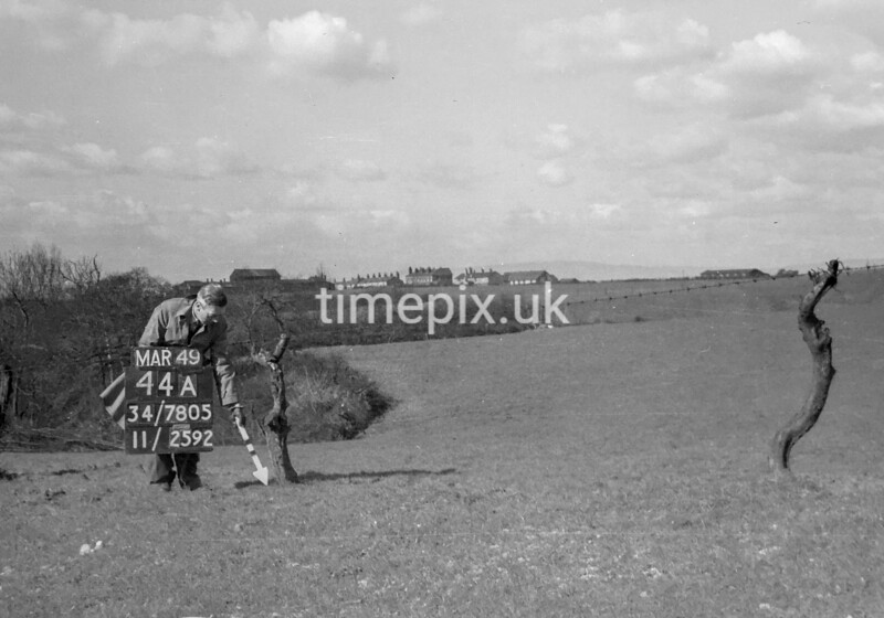 SD780544A, Ordnance Survey Revision Point photograph in Greater Manchester