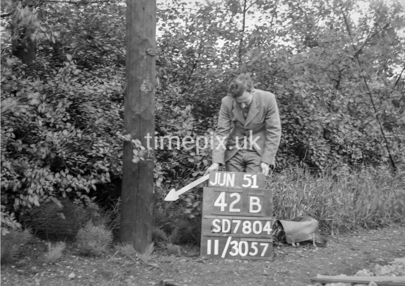 SD780442B, Ordnance Survey Revision Point photograph in Greater Manchester