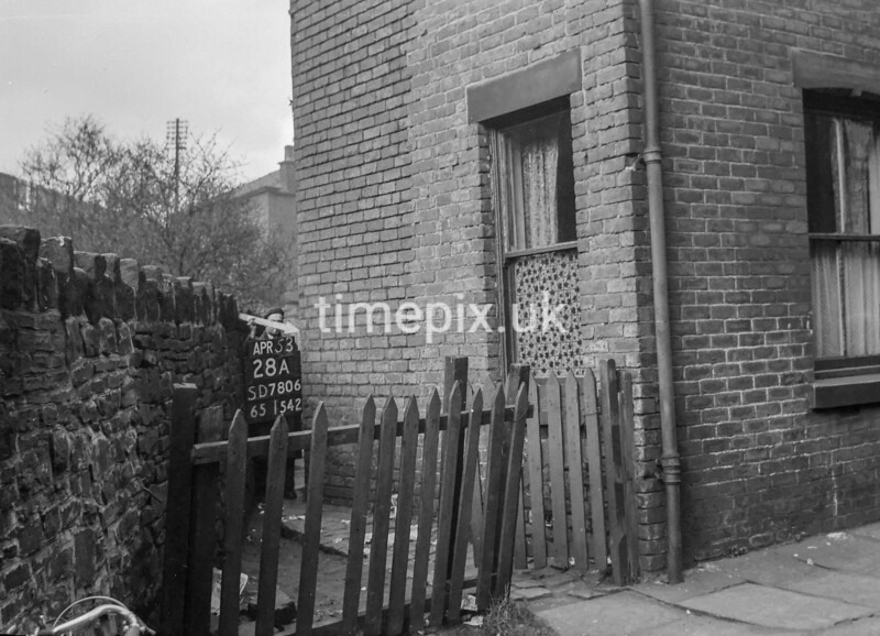 SD780628A, Ordnance Survey Revision Point photograph in Greater Manchester
