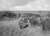 SD630458A, Man marking Ordnance Survey minor control revision point with an arrow in 1940s