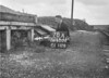 SD620278A, Man marking Ordnance Survey minor control revision point with an arrow in 1950s