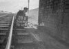 SD630228B, Man marking Ordnance Survey minor control revision point with an arrow in 1940s