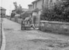 SD640264S, Man marking Ordnance Survey minor control revision point with an arrow in 1940s