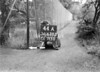SD630344A, Man marking Ordnance Survey minor control revision point with an arrow in 1940s