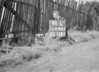 SD630291L, Man marking Ordnance Survey minor control revision point with an arrow in 1940s